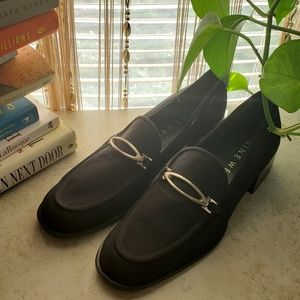 Nine West 7.5M black loafers NWOT